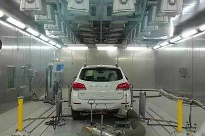 步入式试汽车整车试验室